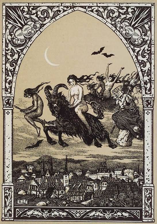 Walpurgis Night/ Walpurgisnacht  April 30/May 1..Winter is ceremonially brought to an end, fun is had involving bonfires,feasting,burning effigies, and dancing.  Northern European festival.