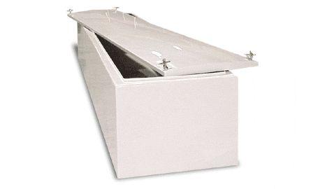 Fiberglass sail boat storage box by Betterway Products Model 125 - sail boat box