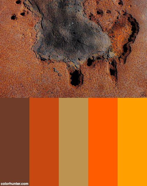 Rust Color Scheme Wonen Pinterest Color Schemes