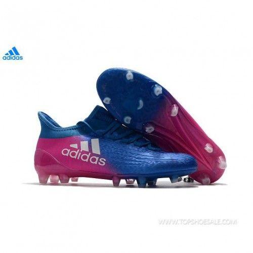 c5fde33b046 adidas X 16.1 FG AG ADIDAS BB5690 MENS BLUE PINK SALE FOOTBALLSHOES ...