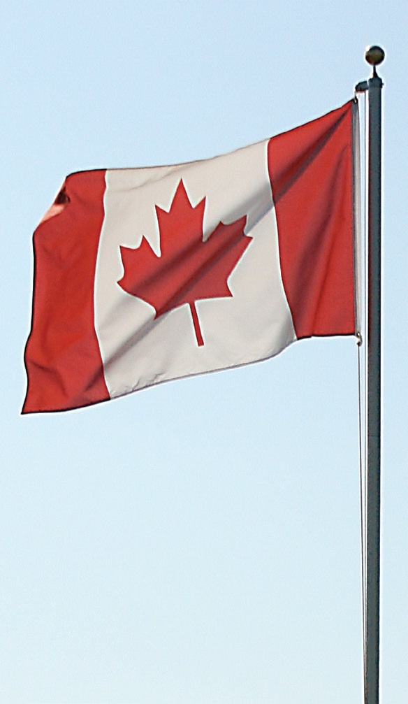 "18"" x 36"" Canadian Flag. Show your Canadian Pride. Available at Lowe's Canada!"