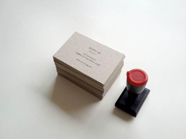 Desain Stempel Karet - Kartu Nama 8 Branding Personal