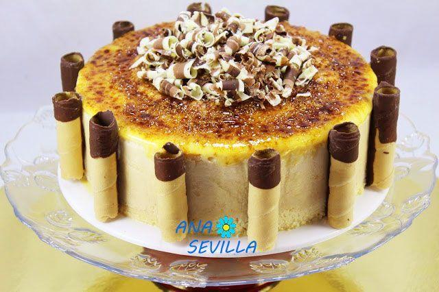 Tarta Helada De Turrón Y Yema Tostada Thermomix La Juani De Ana Sevilla Bloglovin Tarta Helada Tartas Torta De Frutas