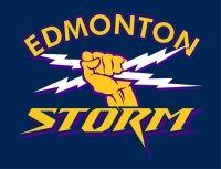 Edmonton Storm (Edmonton, Alberta) Western Women's Canadian Football League #EdmontonStorm #WWCFL #EdmontonAlberta (L17869)