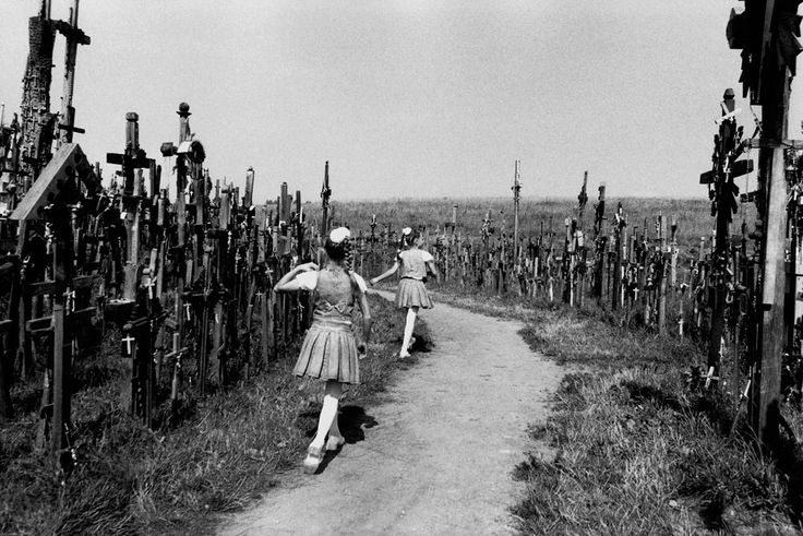 The Hill of Crosses photo by Jason Eskenazi, Lithuania, 2000