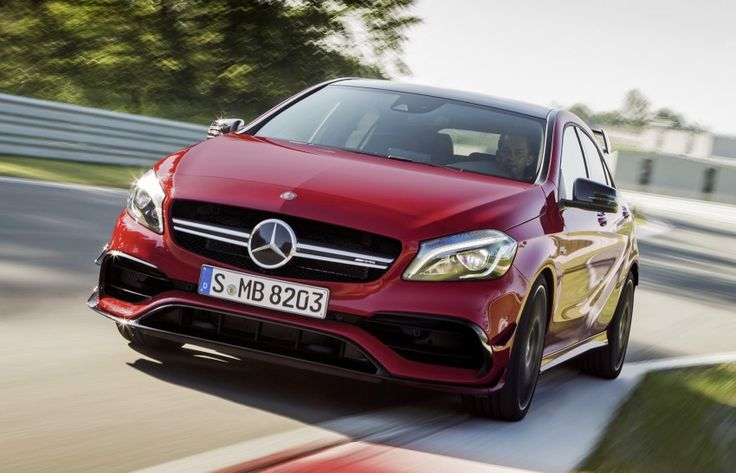 Mercedes-AMG A 45 facelift gets 381 hp and 475 Nm Image #354933