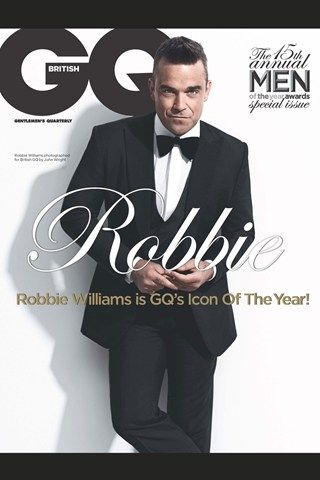 On the front of GQ