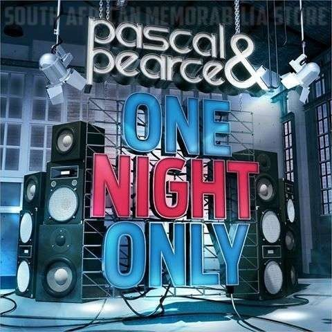 PASCAL & PEARCE - One Night Only - South African CD CDJUST660 *New* - South African Memorabilia Store