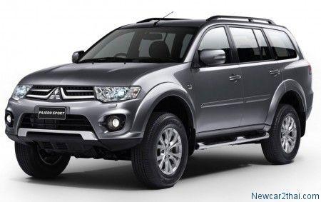 2014 Mitsubishi Pajero Sport ปรับโฉมรับปีม้า ราคาเริ่มต้น 1,031,000 บาท