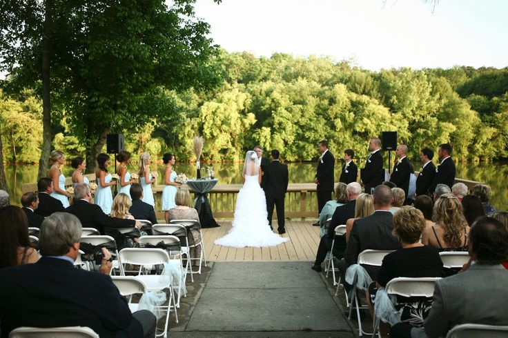 where dave and i will say our vows at roswell river