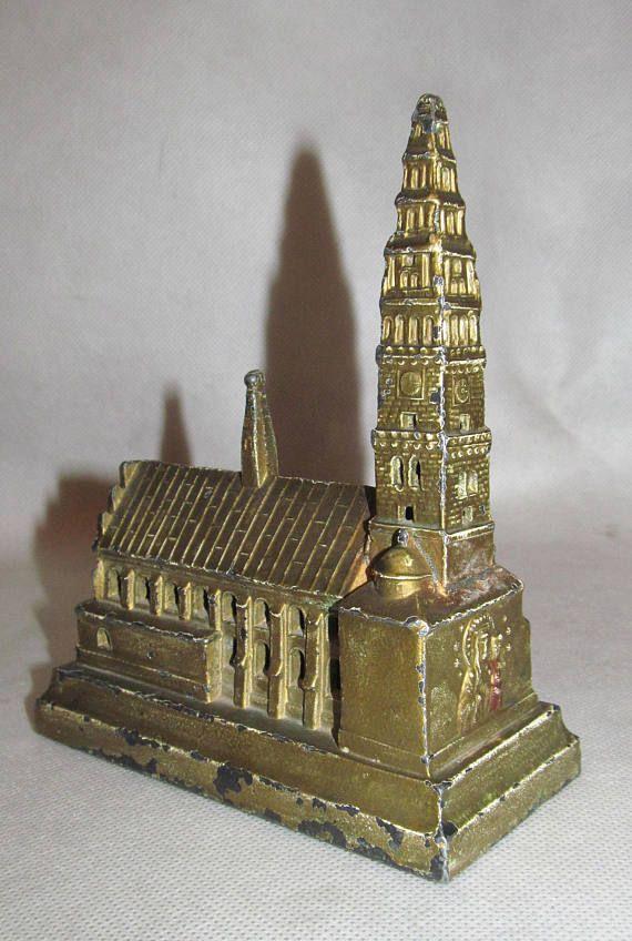 Figurka Cyny Jasna Gora Czestochowa Polski 1920 Sanktuarium Etsy Czestochowa Miniatures Antiques