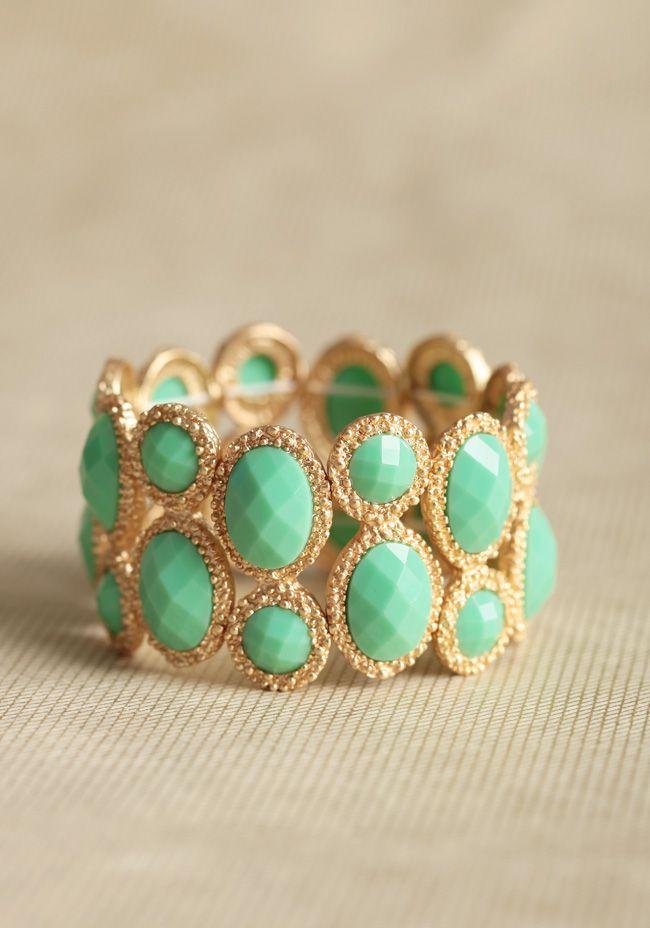 Mint charms to freshen up any ensemble. #shopruche #ruche