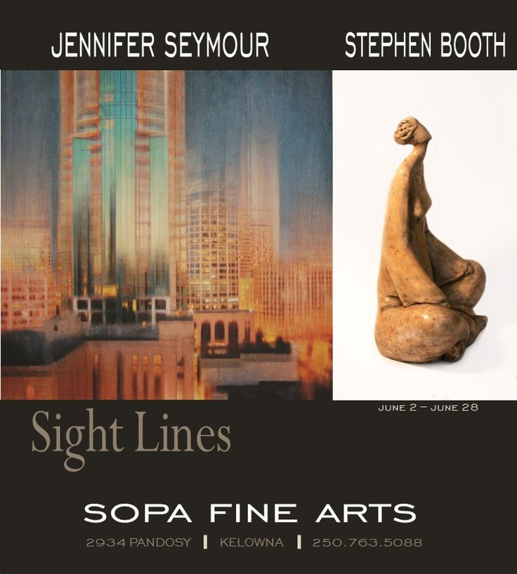 Sight Lines - Jennifer Seymour + Stephen Booth