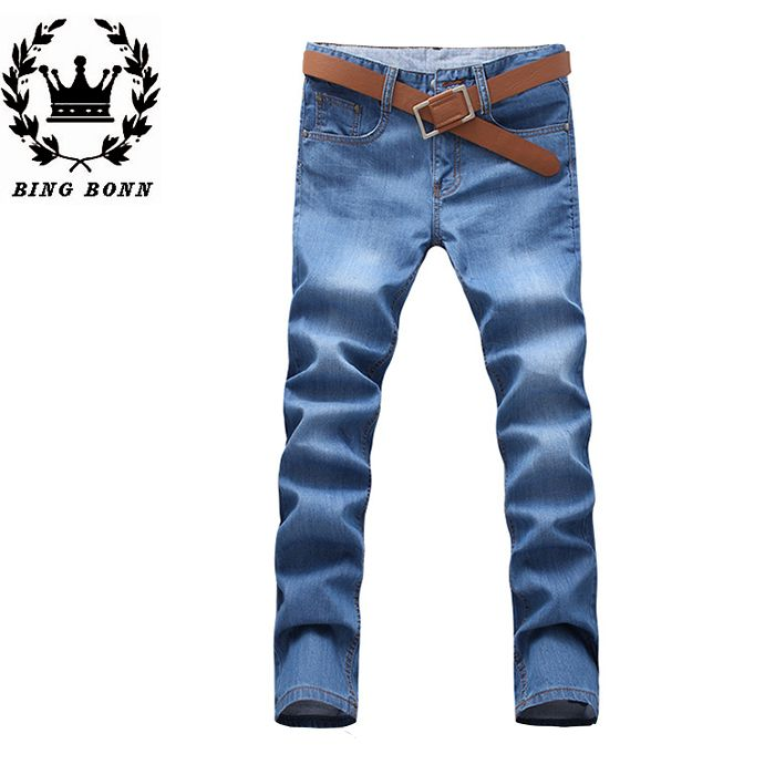 Find More Jeans Information about Bing Bonn 2015 New Casual Fashion Style Jeans For Man Full Length Cotton Midweight For Youth 20% OFF,High Quality fashion denim jeans,China fashion scraf Suppliers, Cheap jean quality from Leisure Time. on Aliexpress.com