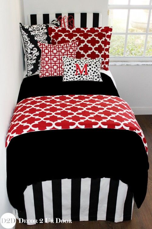 25 Best Ideas About Red Bedding Sets On Pinterest Red