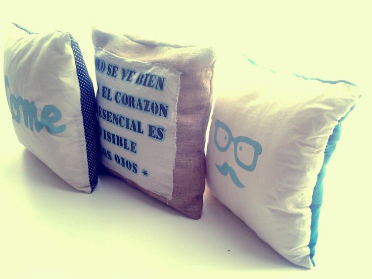 MOSCÚ pillows - My personal project: www.facebook.com/MoscuFanPage <3