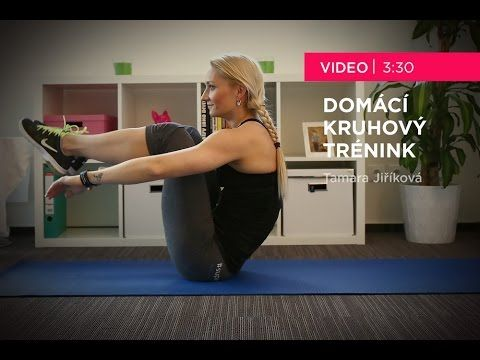 Tamara Jiříková - Domácí kruhový trénink - YouTube