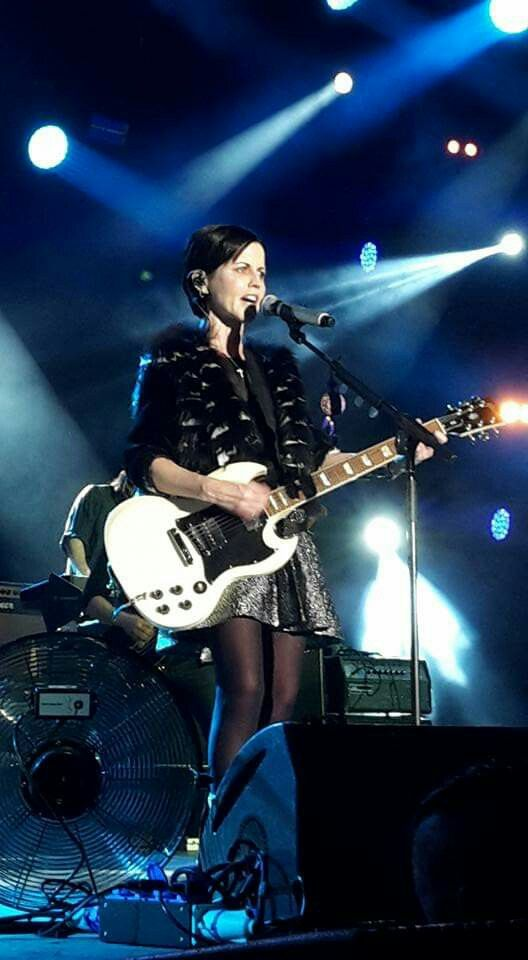 Dolores/The Cranberries live in Colmar 2016 (photo by Milly