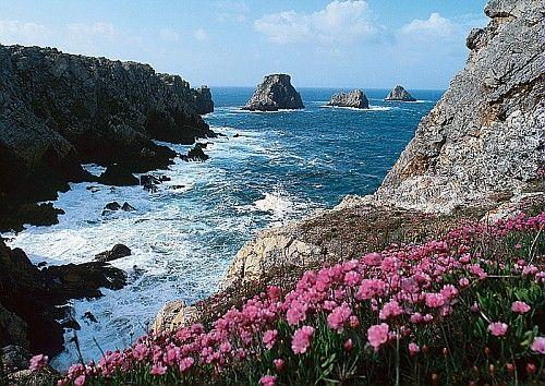 Brittany (Bretagne) Pointe de Penhir in Brittany