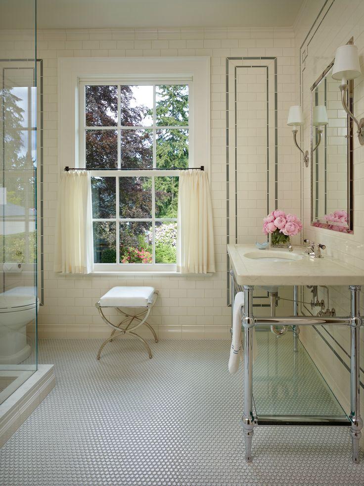 Best Bathrooms Images On Pinterest Bath Bathroom And - Cafe curtains for bathroom for bathroom decor ideas