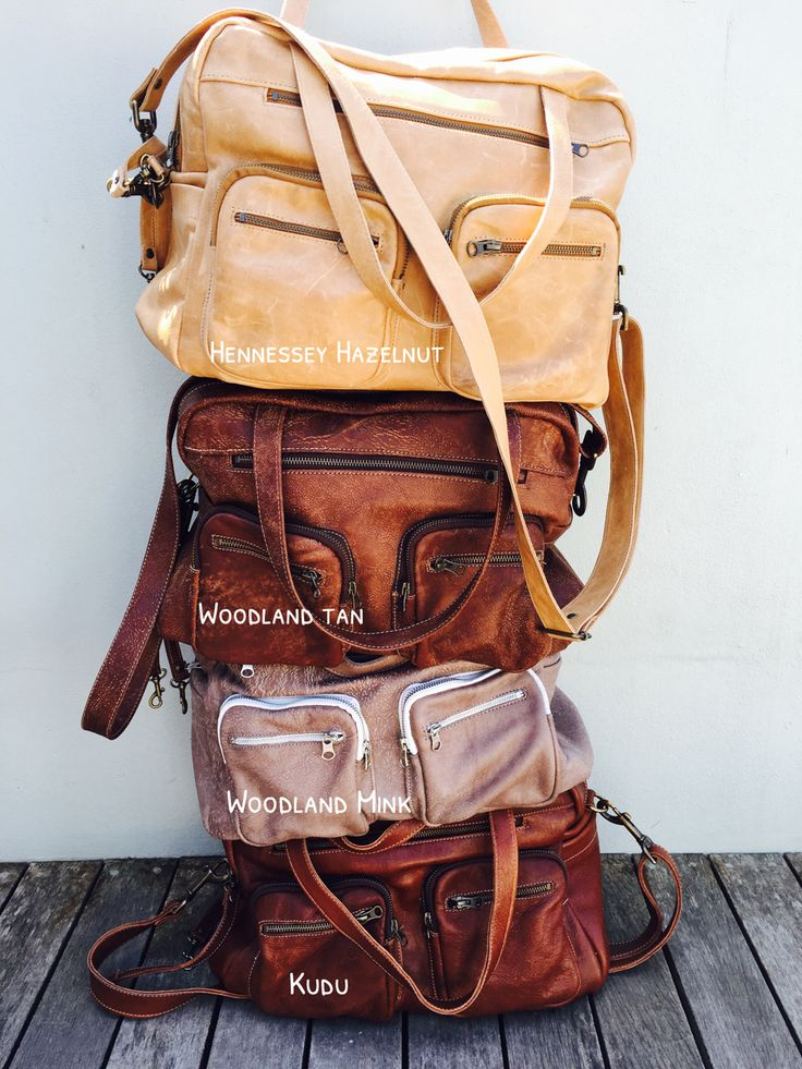 Wild and Free South Africa Genuine Leather Bags