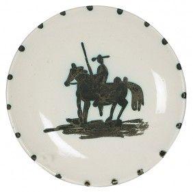 Pablo Picasso Don Quixote Plate