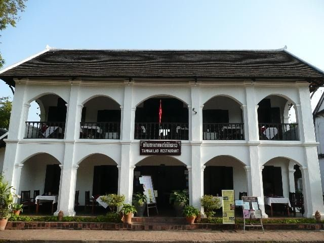 Colonial buildings - Luang Prabang