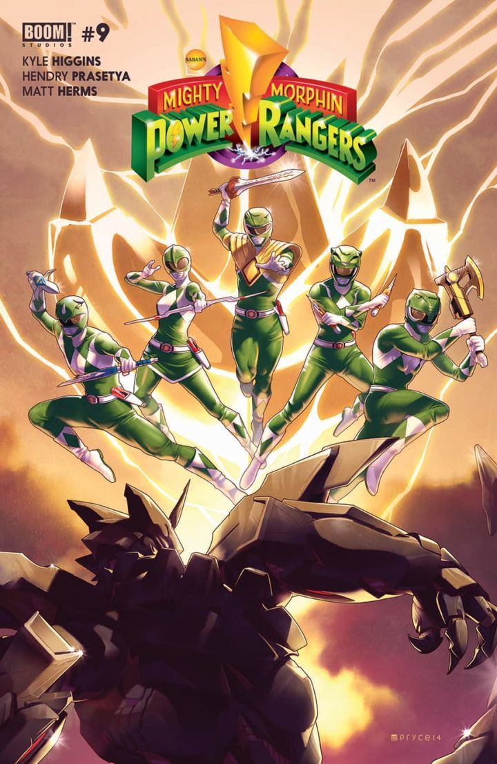 Mysterious New Mighty Morphin Ranger Revealed  Todays Mighty Morphin Power Rangers #9 by writer Kyle Higgins and artist Hendry Prasetya from publisher BOOM! Studios saw the reveal of a brand new Power Ranger.   Mighty Morphin Power Rangers #9 cover art by Jamal Campbell. (BOOM! Studios)  Warning: this article contains full spoilers for Mighty Morphin Power Rangers #9!  Continue reading  https://www.youtube.com/user/ScottDogGaming @scottdoggaming