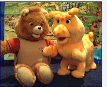Used to wish Teddy Ruxpin would actually talk to me.