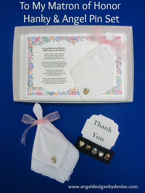 is a perfect gift to give your maid or matron of honor on your wedding ...