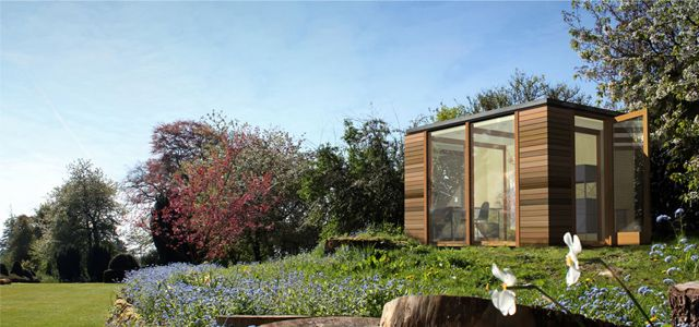 19 best artists studios and modular units images on for Modular garden studio