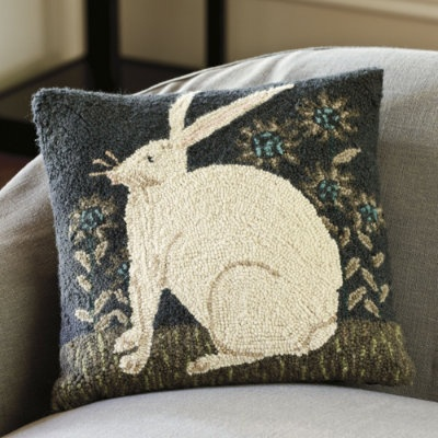Throw Pillows Ballard Design : Ballard Designs country ---black Pinterest Wool, Hall tree bench and Good ideas