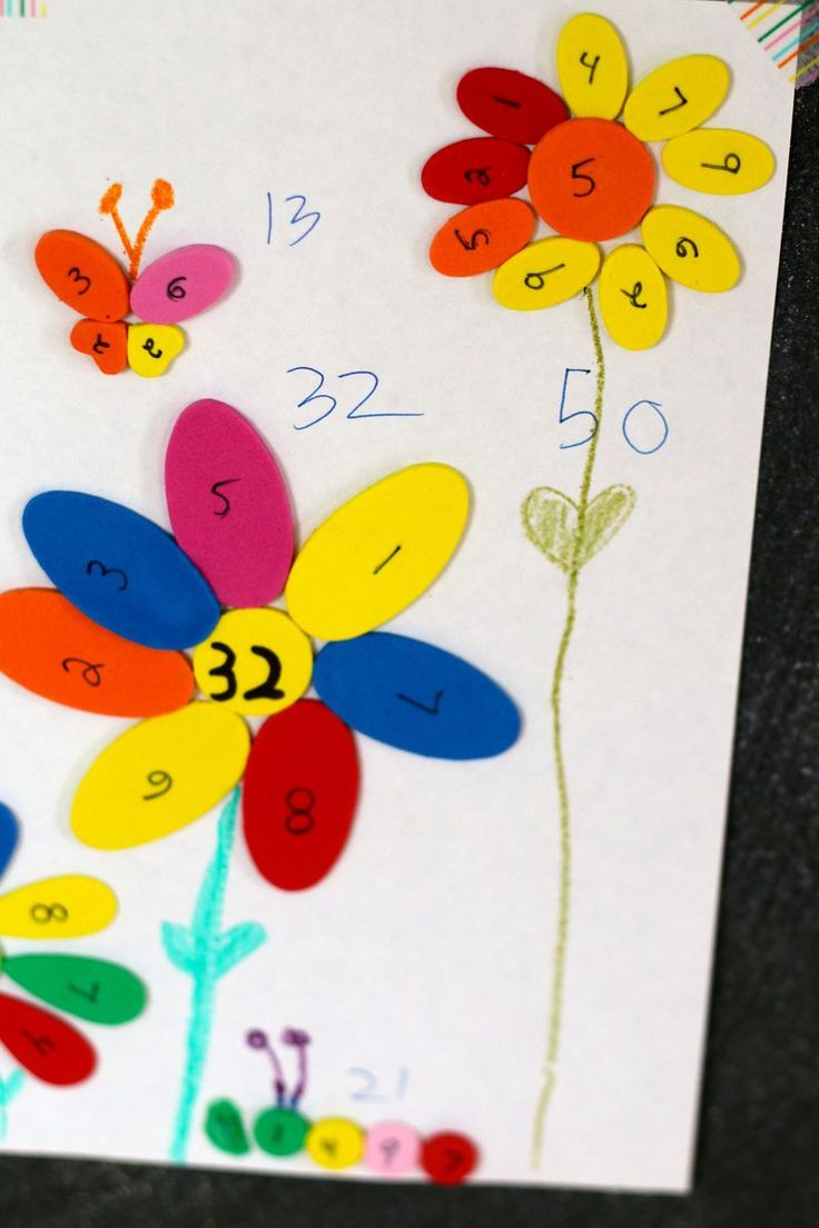 Math Activities for Spring - These Math activities for Spring are a great way to foster creative learning fun while celebrating flowers, butterflies, bugs, and more!