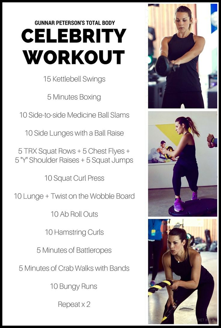 Female Celebrities - Pop Workouts: Celebrity Workouts