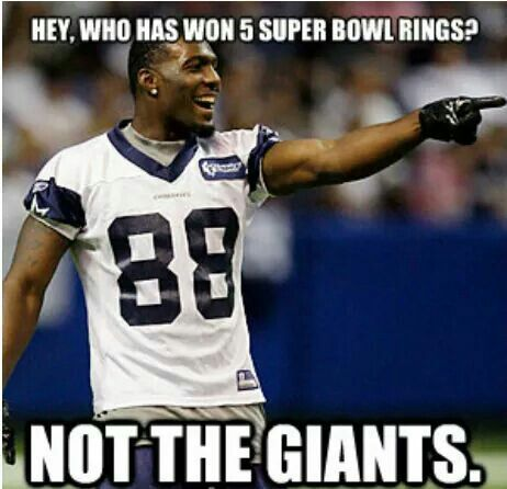If the Dallas Cowboys are so bad, which is it taking so long for the New York Giants to catch up!