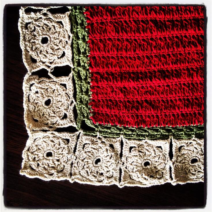 Crochet baby blanket Little girls Pinterest