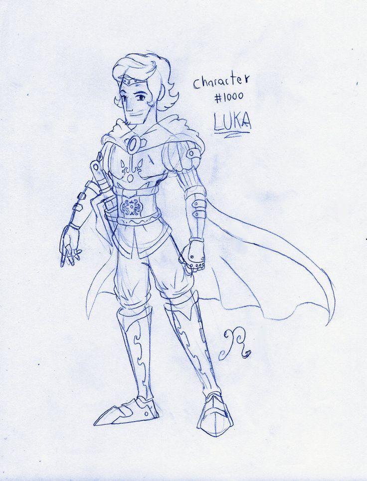 My character number 1000: Luka