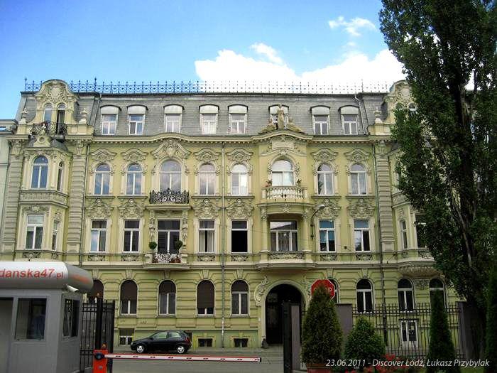 Poland, Lodz, Gdańska, Pałac Kipperów