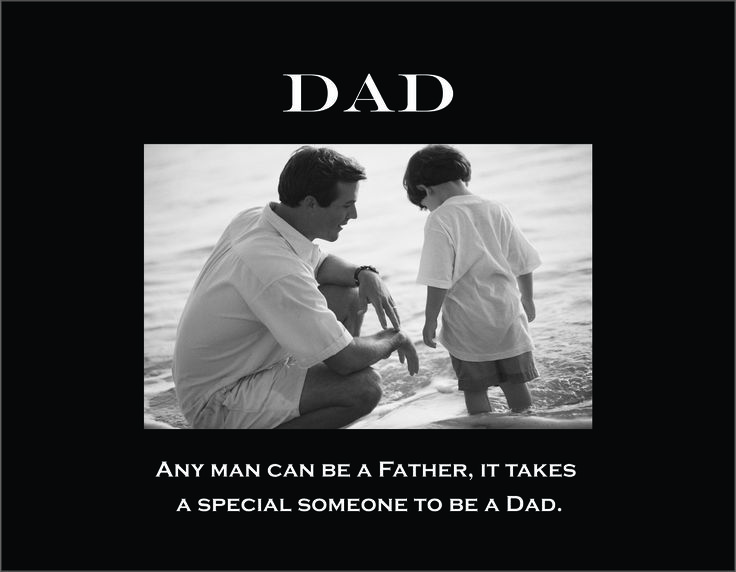 """Dad 4""""x6"""" Photo Frame with Verse (Any Man Can Be....)"""