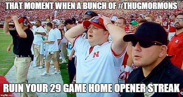 The Best Reactions, Memes and Vines of the BYU/Nebraska Game
