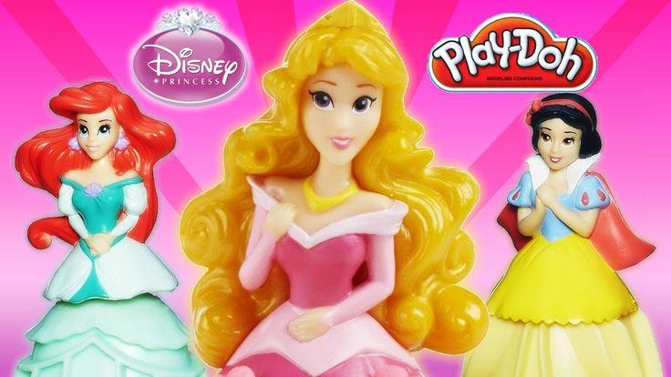 Disney Princess  Ariel Snow White Aurora  PlayDoh Mix 'n Match Magical Designs Palace Castle From Rainbow Toys TV  https://youtu.be/WAFyn1-KUjY?list=PLDogJfx3GEGLP5wPCY1no87EidOppjZva