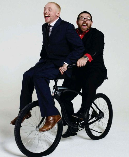 Gonna just end my major Pin-a-thon with Simon Pegg & Nick Frost. You've all been a lovely audience. Good night! <3