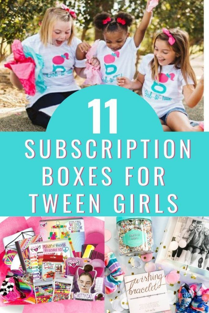 11 Best Subscription Boxes for Tween Girl 2020 in 2020
