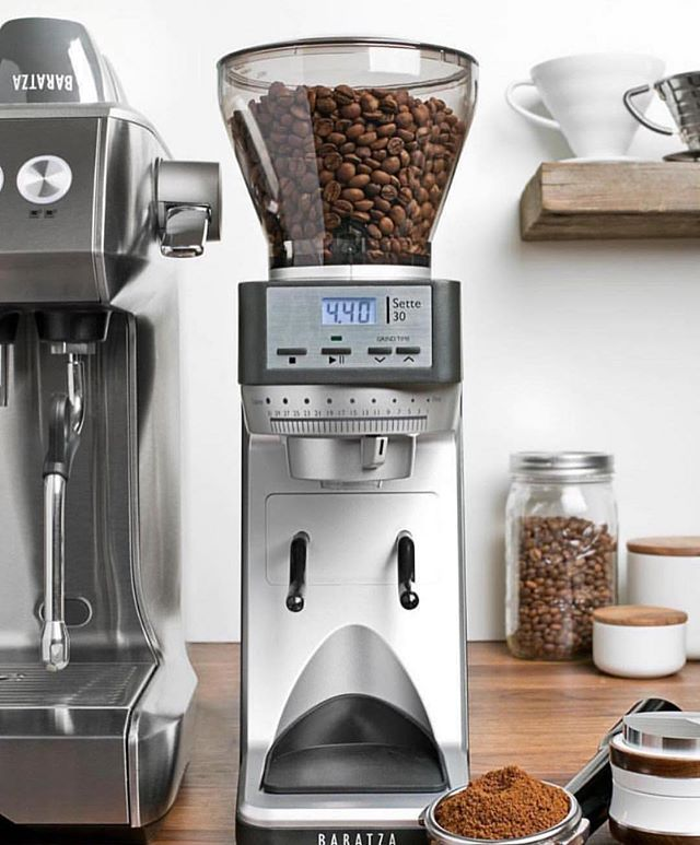 Entry Level Espresso Grinder The Baratza Sette 30 Is Perfect See The Video Link In Bio By Baratza Espresso Grinder Best Coffee Grinder Coffee Brewing