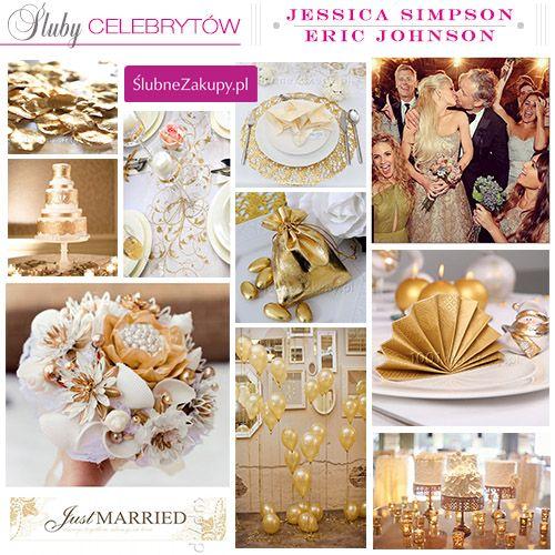 Śluby celebrytów: Jessica Simpson i Eric Johnson #slub #wesele #sklepslubny