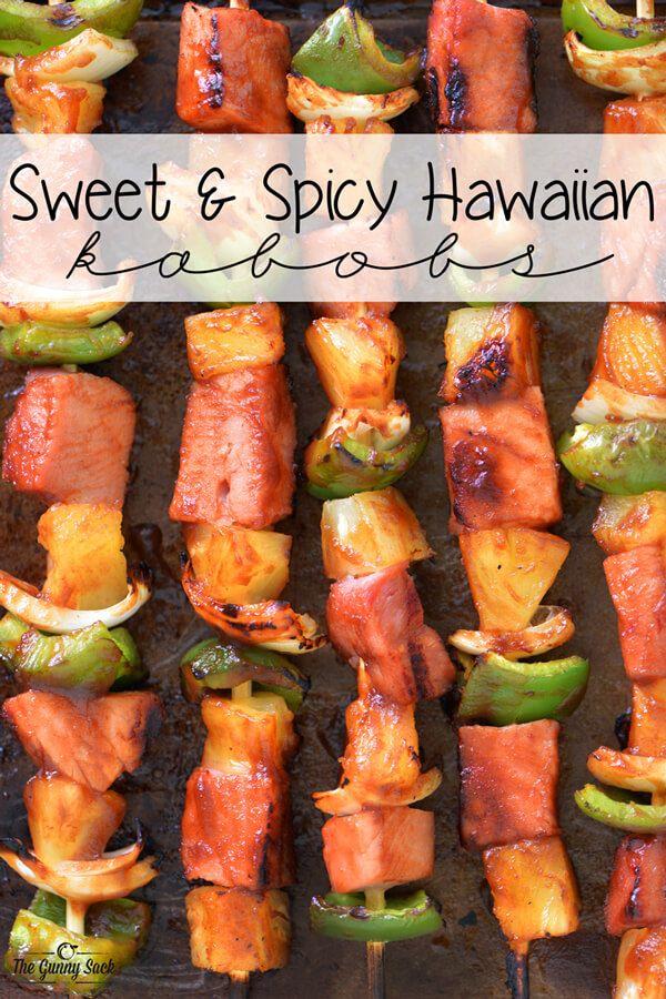recetas de pinchos hawaianos