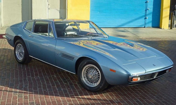 Featured Listing - 1971 Maserati Ghibli 4.7 Coupe For Sale