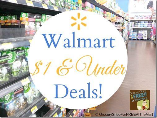 Walmart $1.00 and Under Deals!