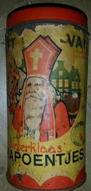 Oud Sinterklaas blik.