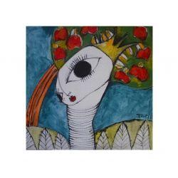 florencia troisi: jiraffe woman